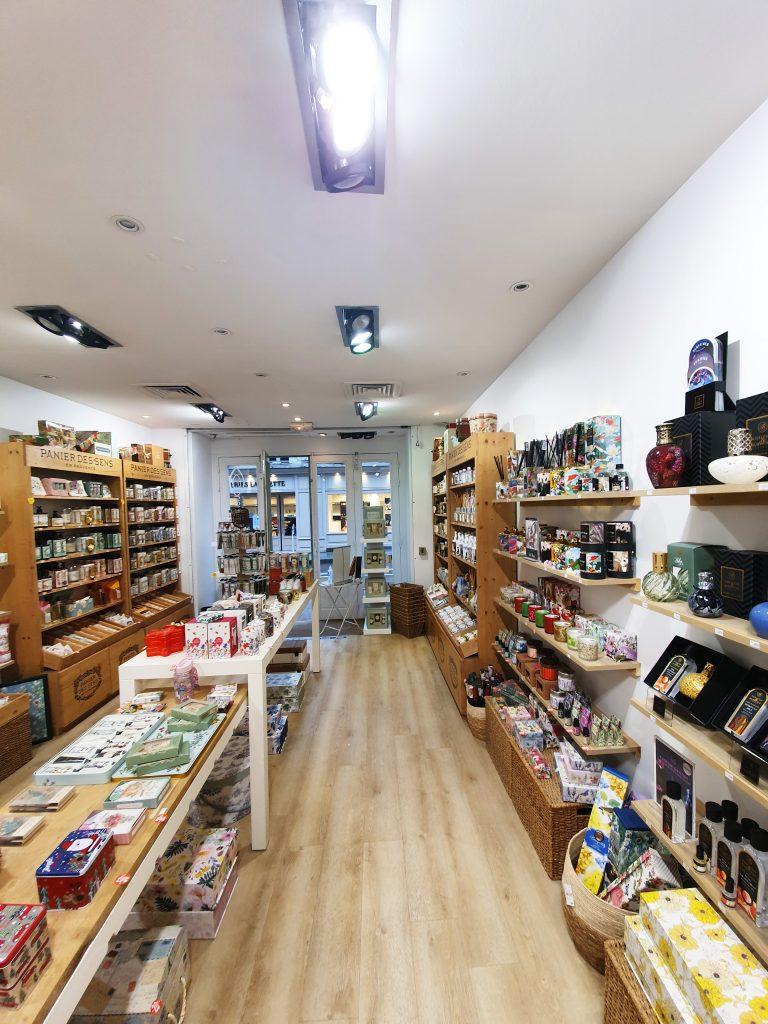 natural boutique intérieur